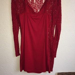 JustFab lace dress